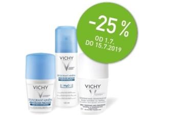 25% popusta na deodorante Vichy