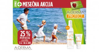 A-Derma Protect ugodneje v mesecu juniju