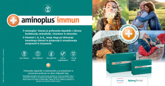 Brezplačna navadna dostava ob nakupu Aminoplus immun