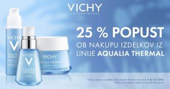 Vichy Aqualia Thermal 25 % ugodneje
