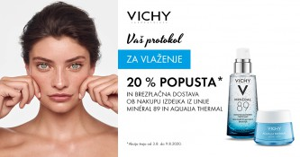 Vichy Aqualia 20 % ugodneje