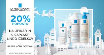La Roche-Posay Cicaplast in Lipikar 20 % ugodneje + brezplačna dostava