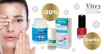 20 % popusta na izdelke Vitry Sensitive in odstranjevalec laka