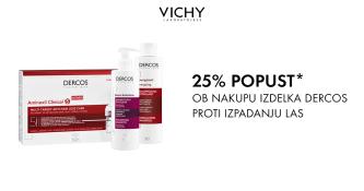 Vichy Dercos izdelki 25 % ugodneje