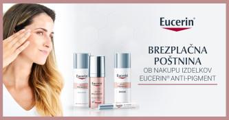 Brezplačna navadna dostava ob nakupu Eucerin Anti-Pigment