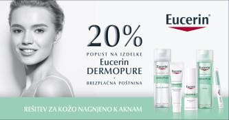Eucerin DermoPure 20 % ugodneje