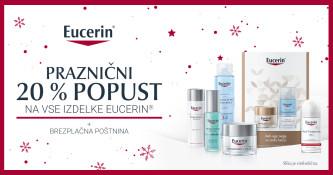 Izdelki Eucerin 20 % ugodneje in brezplačna navadna dostava