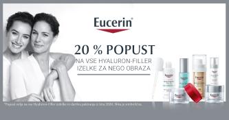 Eucerin Hyaluron-Filler 20 % ugodneje
