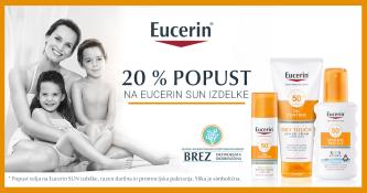 Eucerin Sun 20 % ugodneje
