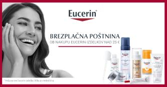 Brezplačna dostava ob nakupu izdelkov Eucerin nad 25 €