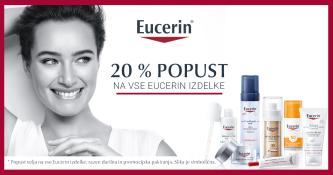 Izdelki Eucerin 20 % ugodneje