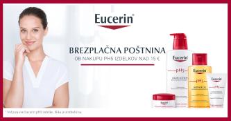Brezplačna navadna dostava ob nakupu Eucerin pH5