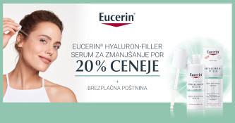 Eucerin Hyaluron-Filler serum 20 % ugodneje