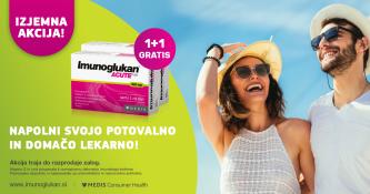 Imunoglukan P4H Acute 5 kapsul ali 10 kapsul - 1+1 gratis