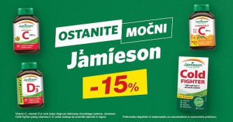 Jamieson izbrani izdelki 15 % ugodneje