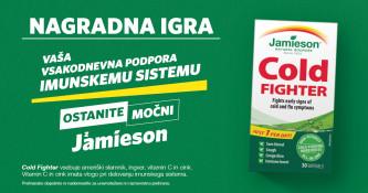 Facebook nagradna igra Ostanite močni z Jamieson