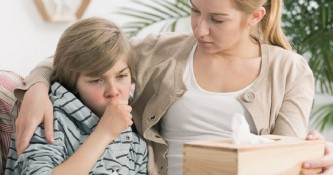 Kašelj pri otrocih