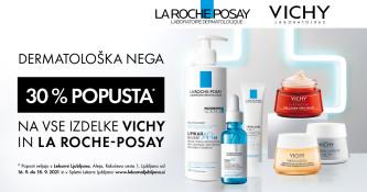 Posebna ponudba La Roche-Posay in Vichy