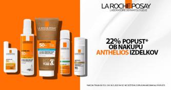 La Roche-Posay Anthelios 22 % ugodneje