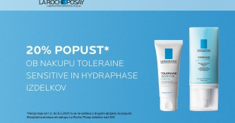 La Roche-Posay Toleriane Sensitive in Hydraphase 20% ugodneje