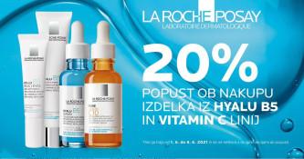 La Roche-Posay Hyalu B5 in Pure Vitamin C10 20 % ugodneje