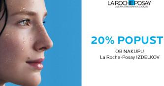 Vikend akcija La Roche-Posay 20 % ugodneje