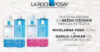 La Roche-Posay rutina za čiščenje obraza in telesa