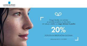 Ugodnost ob nakupu izdelka La Roche-Posay