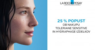 La Roche-Posay Toleriane Sensitive in Hydraphase 25 % ugodneje