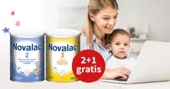 Akcijska ponudba Novalac mlečnih formul