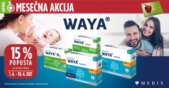 15 % popusta na Waya izdelke