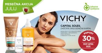 Vichy Capital Soleil 30 % ugodneje v mesecu juliju