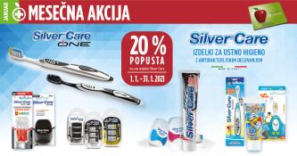 Silver Care 20 % ugodneje v januarju