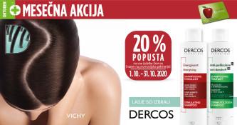 Vichy Dercos 20 % ugodneje