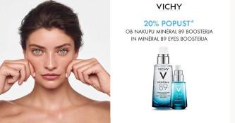 Vichy Mineral 89 in Mineral 89 Eye Booster 20 % ugodneje