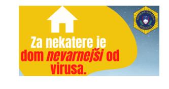 Pomoč žrtvam nasilja v družini tudi v času epidemije