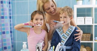 Nega ustne votline pri otrocih