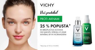 Vichy Normaderm 25 % ugodneje