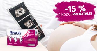 Novalac prenatalne kapsule 15 % ugodneje