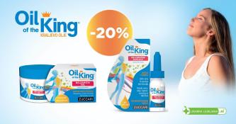Kraljevo olje 20 % ugodneje