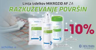 Mikrozid AF za razkuževanje 10 % ugodneje
