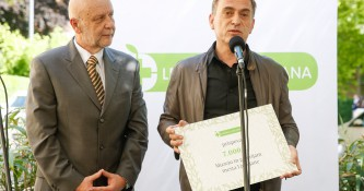Donacija Lekarne Ljubljana ob odprtju Lekarne Mirje