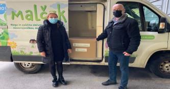 Lekarna Ljubljana in LL Grosist pripravila paket pomoči za zdravstvene delavce in prebivalce Petrinje