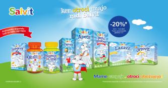 Izdelki Salvit 20 % ugodneje