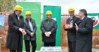 Položen temeljni kamen za novo lekarno pri Zdravstvenem domu Grosuplje