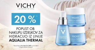 Vichy Aqualia Thermal 20 % ugodneje