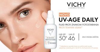 Brezplačna navadna dostava ob nakupu Vichy Capital Soleil UV-Age Daily