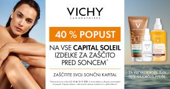 Vichy Capital Soleil 40 % ugodneje
