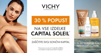 Vichy Capital Soleil 30 % ugodneje