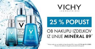 Vichy Mineral 89 25 % ugodneje